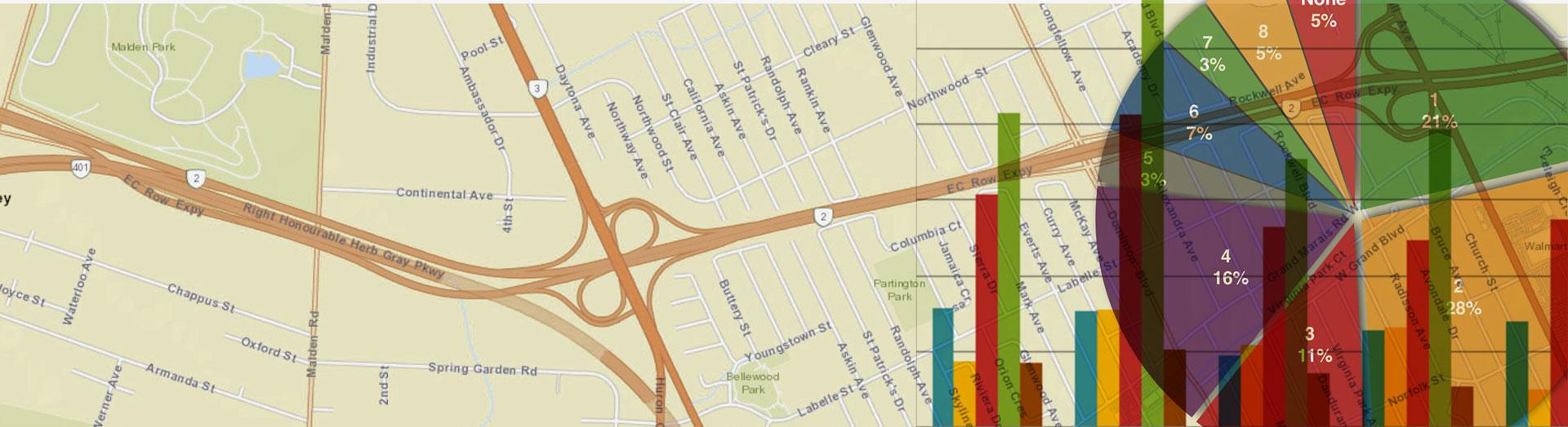 Maps Data Bike Windsor Essex
